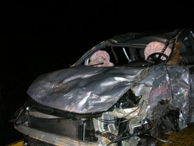 Mulher morre em acidente na Rota do Sol, em São Francisco de Paula Grupo Rodoviário de Gramado, divulgação/