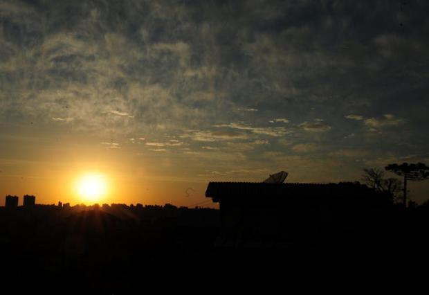 RS amanhece com calorão de quase 30ºC na região Central Roni Rigon/Agencia RBS