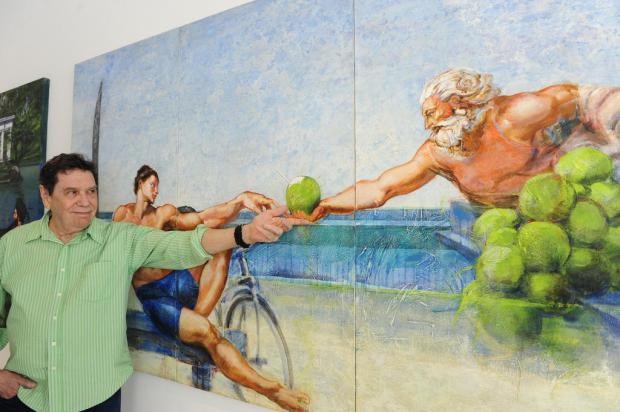 Gaúcho Lielzo Azambuja abre mostra em Caxias nesta terça, na Galeria Municipal Roni Rigon /