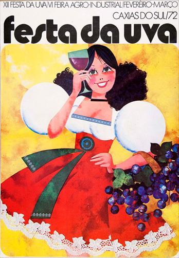 Relembre as curiosidades da Festa da Uva de 1972 em Caxias do Sul Aldo Toniazzo , Acervo AHJSA, divulgação/