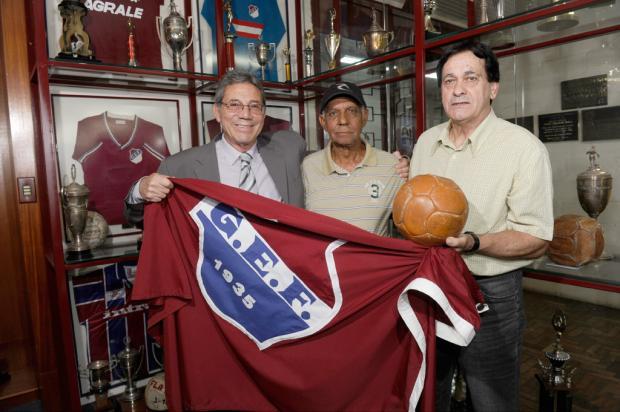 Ex-jogadores lembram conquista da Fita Azul pelo Flamengo, hoje Caxias, há 50 anos Porthus Junior/