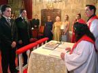 Casal homossexual se casa pela Igreja Evangélica Inclusiva do Brasil, em Caxias do Sul Divulgação/clicRBS