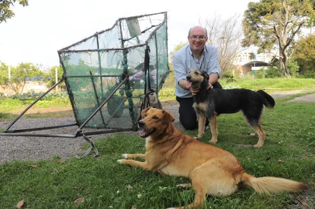 Scooby e Preta têm novo lar em Caxias do Sul Jonas Ramos/