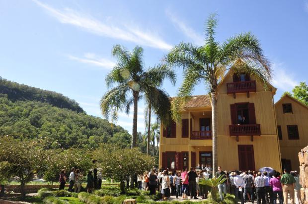 Restauradas, casas que foram de Hércules Galló estão abertas para visitação da comunidade, em Caxias do Sul Roni Rigon/Agência RBS