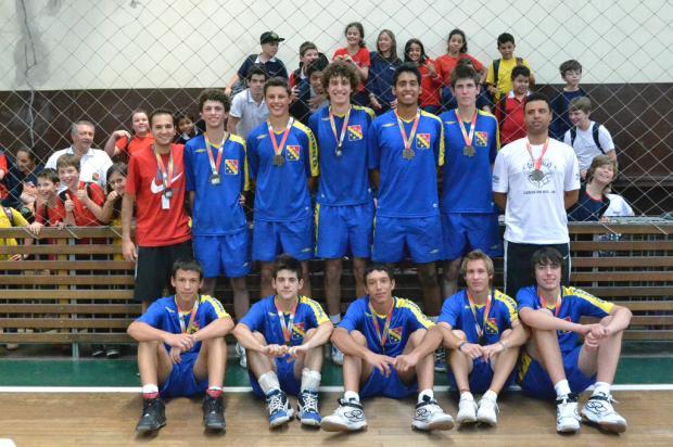 Murialdo conquista o título no vôlei masculino juvenil Daniel Rodrigues, divulgação /