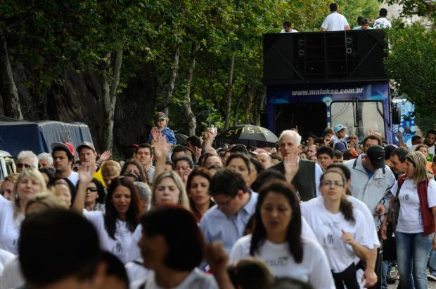Marcha para Jesus deve atrair cinco mil pessoas neste sábado, em Caxias do Sul Jonas Ramos, Especial/
