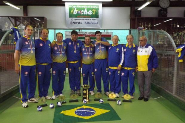 Liga Cultural Pratense conquista título sul-americano Edemilton Ciotta, divulgação /