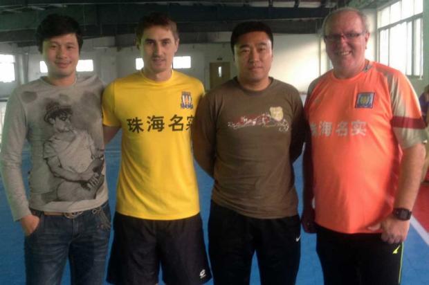 Jarico leva preparador físico formado na Serra para a China Zhuhai Minshi, divulgação/