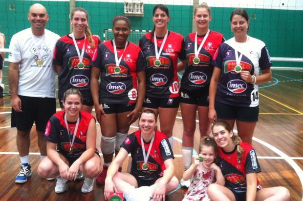Equipes da UCS conquistam títulos de torneio da Liga Caxiense APAAVôlei, divulgação /
