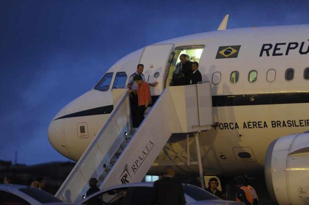 Presidente Dilma chega a Caxias do Sul Porthus Junior, Agência RBS/