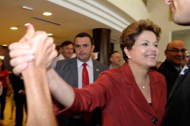 Dilma Rousseff sai de hotel em direção à Barragem do Marrecas, em Caxias do Sul Juan Barbosa, Agência RBS/