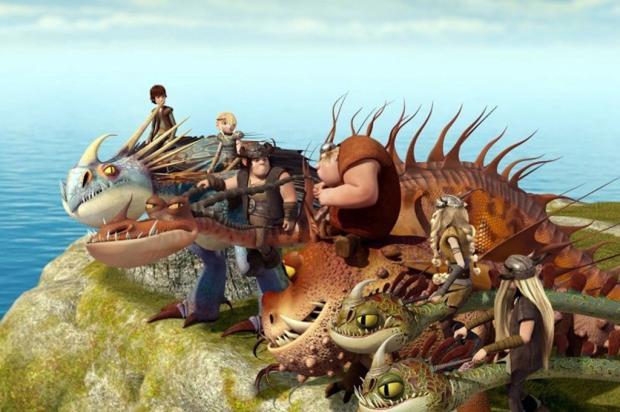 Cartoon Network estreia 'Dragões: Pilotos de Berk' na segunda Reprodução/