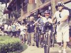Uso de bicicleta é estimulado em Gramado Sergio Azeved, divulgação /
