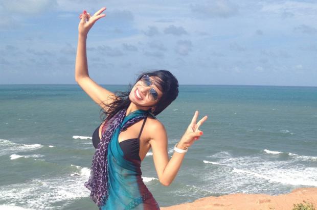 Janine Salles prepara-se para viver a dançarina em 'Flor do Caribe' Matheu Cabral, TV Globo/ Divulgação /