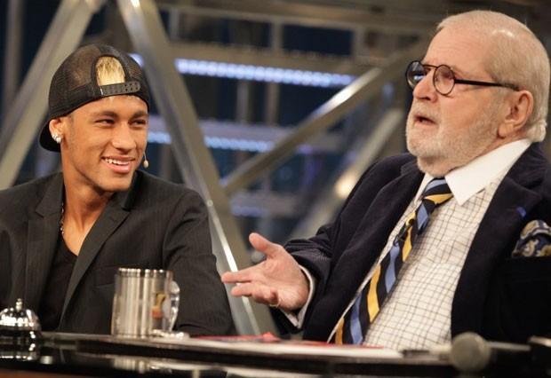 Neymar diz que 'pipoca' para se livrar de entradas violentas  TV Globo/Divulgação