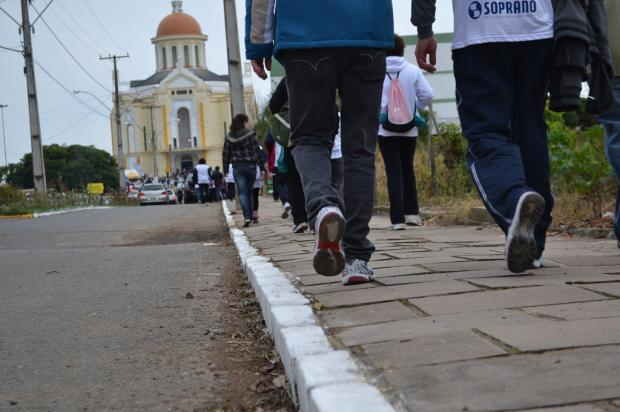 Pré-romarias movimentam Santuário de Caravaggio, em Farroupilha, neste sábado Raquel Fronza/ Divulgação/