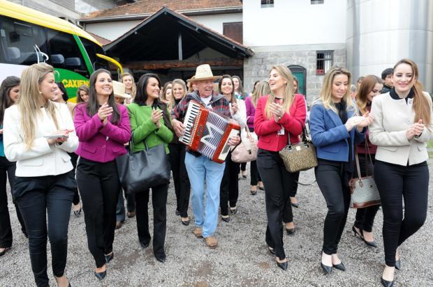 Saiba como as candidatas a rainha da Festa da Uva de Caxias são avaliadas Luiz Chaves, divulgação/