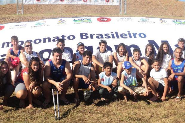 Equipe caxiense de canoagem fatura título inédito em Palmas JONATAN MAIA DE OLIVEIRA/divulgação