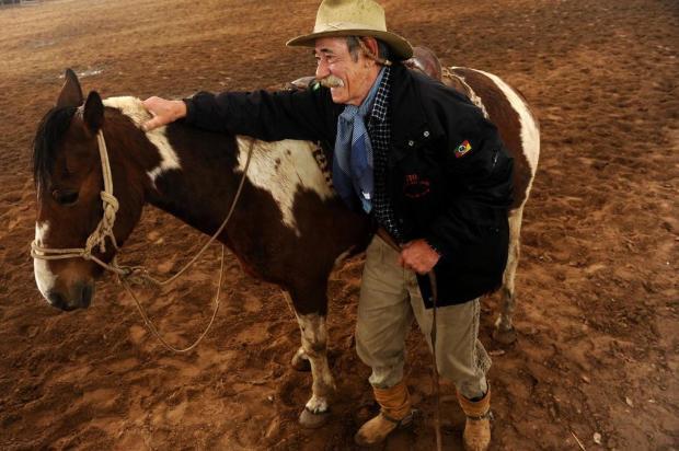 O gaúcho e o cavalo: uma relação de amizade Daniela Xu/Agencia RBS