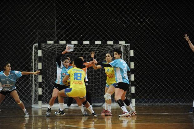 Apahand/UCS/Fátima Saúde perde a segunda pela Liga de Handebol feminino Roni Rigon/Agencia RBS