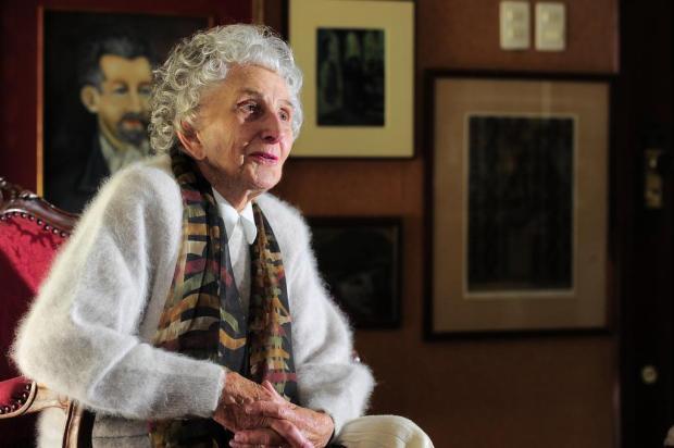 Aos 93 anos, morre a costureira Corina Frigeri Wainstein em Caxias do Sul Porthus Junior/Agencia RBS