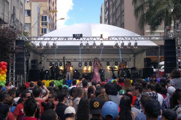 Público começa a chegar para Parada Livre de Caxias do Sul Eliane de Brum/ Agência RBS/