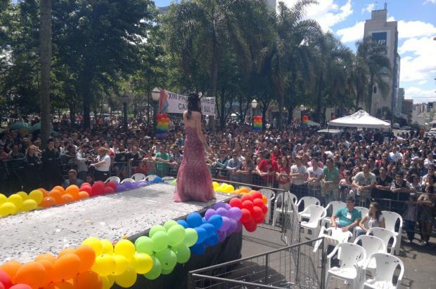 13ª Parada Livre de Caxias do Sul segue durante a tarde do domingo Eliane de Brum/ Agência RBS/