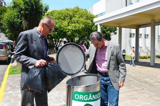 Contêiner de lixo subterrâneo entra em funcionamento nesta quinta-feira, em Caxias Andréia Copini/divulgação