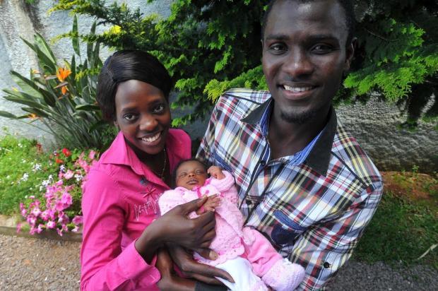 Nasce a primeira filha de senegaleses em Caxias do Sul Jonas Ramos/Especial