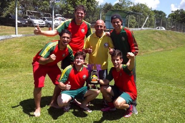 Na foto, o grupo que representou a cidade no time gaúcho Foto: Andrei Borges/Divulgação
