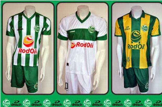 Juventude vai vestir camisa verde e amarela em alguns jogos de 2014  Divulgação  e069aa375398f