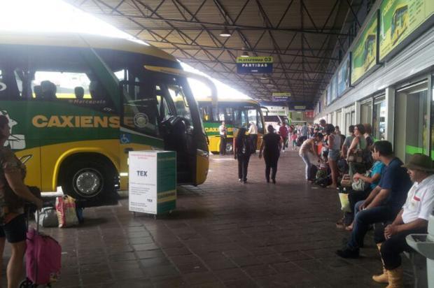 Quase 40 ônibus extras serão colocados na rodoviária de Caxias para o feriado de Ano Novo Andrei Cardoso/ Agência RBS/