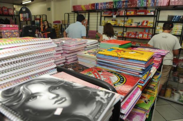Papelarias de Caxias destacam procura maior por materiais escolares Roni Rigon/Agencia RBS