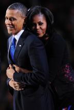Casal Obama revela experiências pessoais com discriminação racial (Robyn Beck/AFP)