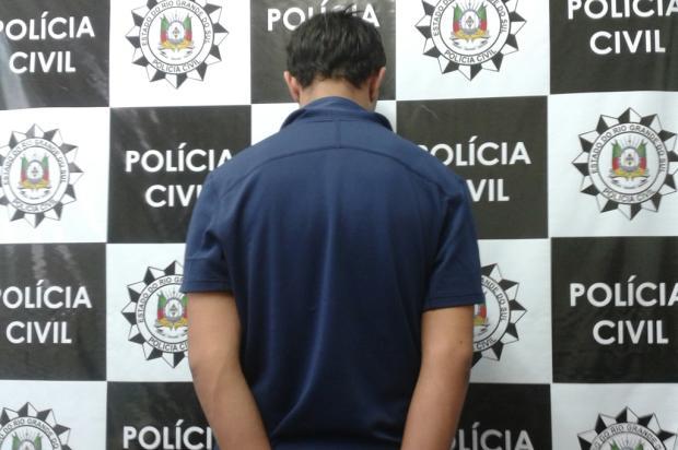 Homem é preso por assassinato de jovem no São Caetano, em Caxias do Sul Delegacia de Homicídios de Caxias do Sul/ Divulgação/