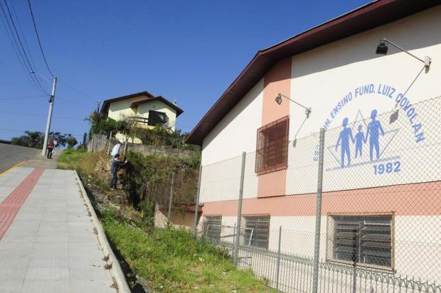 Secretaria de Educação estima que obras na Escola Luiz Covolan, em Caxias, terminem em 90 dias Roni Rigon/Agencia RBS