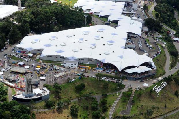 """""""Poderia ser fadada a uma 'festinha'"""", diz Sandra Randon sobre não adiar a Festa da Uva para 2019 Diogo Sallaberry/Agencia RBS"""