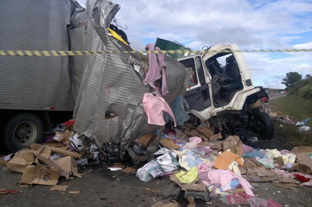 Colisão entre dois caminhões deixa uma pessoa morta na Rota do Sol Raquel Fronza/ Agência RBS/