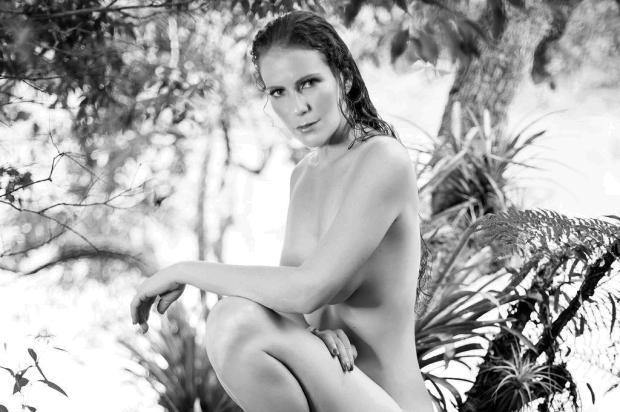 Fotos de Ana Paula Maciel nua em ensaio para a Playboy são divulgadas André Sanseveriano/Playboy/ Divulgação