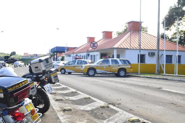 Grupo Rodoviário de Farroupilha atende no extinto pedágio em Caxias do Sul Gabriel Lain/Especial