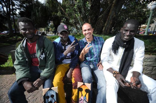 Senegaleses e haitianos estão inseridos na comunidade de Caxias do Sul Diogo Sallaberry/Agencia RBS