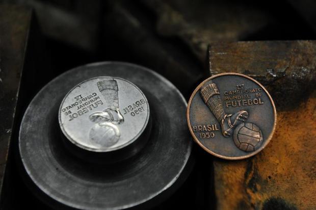 Medalhas comemorativas da Copa de 1950 foram cunhadas em Caxias do Sul Roni Rigon/Agencia RBS