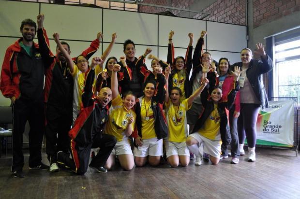 Surdas caxienses conquistam título no futsal em Santa Cruz do Sul André Pereira/Divulgação