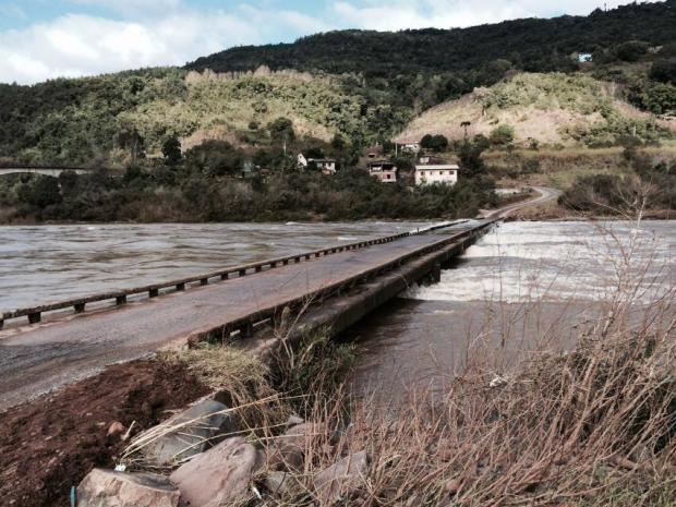 Prefeitura de Cotiporã quer auxiliar em projeto de nova ponte na divisa com Bento Renan Lunardi/Divulgação