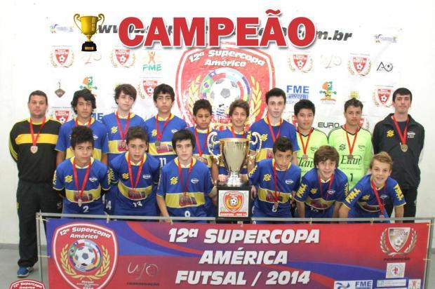 Equipe sub-15 da AABB caxiense conquista torneio em Santa Catarina AABB/Divulgação