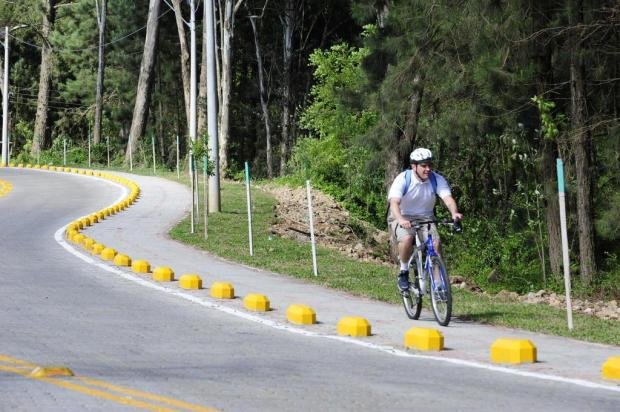 Reunião entre grupos ciclísticos de Caxias vai debater pontos para receber ciclofaixas compartilhadas Roni Rigon/Agencia RBS