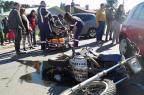 Colisão entre carro e moto deixa uma pessoa ferida em Bento Gonçalves Bruno Mezzomo / Leouve / Divulgação/