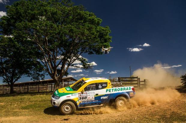 João Franciosi e Rafael Capoani defendem a liderança da categoria Protótipos T1 no Rally dos Sertões Marcelo Machado/Webventure,divulgação