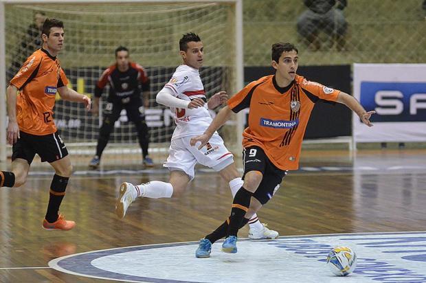 ACBF enfrenta o Blumenau na noite desta quinta-feira pela Liga Futsal Ulisses Castro / Jornal Contexto/Divulgação