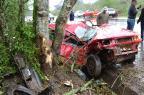 Acidente neste sábado mata motorista em Guaporé Eduardo Godinho / Rádio Aurora / divulgação/